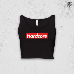 Hardcore Supreme Crop Top