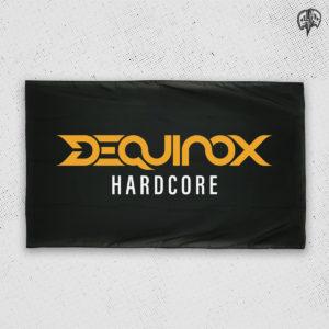 DEQUINOX Hardcore Fahne