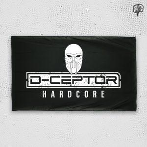 D-Ceptor Hardcore Fahne