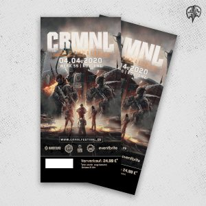 CRMNL Festival 2020 Hard Ticket