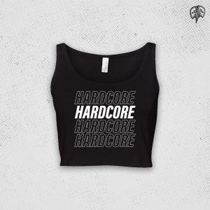 Hardcore Outline Crop Top
