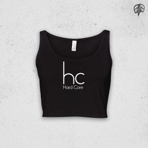 Hardcore Calvin Style Crop Top