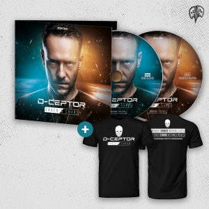 [DQXCD002] D-Ceptor – Order & Chaos Bundle / CD inkl. T-Shirt